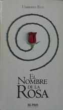 Portada EL NOMBRE DE LA ROSA - UMBERTO ECO - EL PAIS