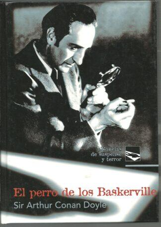 Portada EL PERRO DE LOS BASKERVILLE - SIR ARTHUR CONAN DOYLE - RUEDA