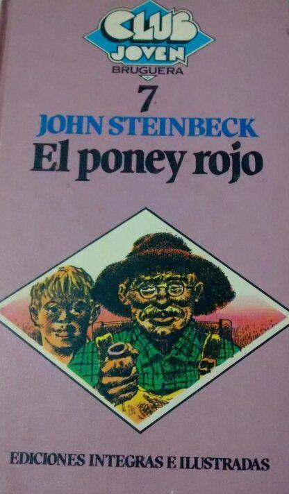Portada EL PONEY ROJO - JOHN STEINBECK - BRUGUERA