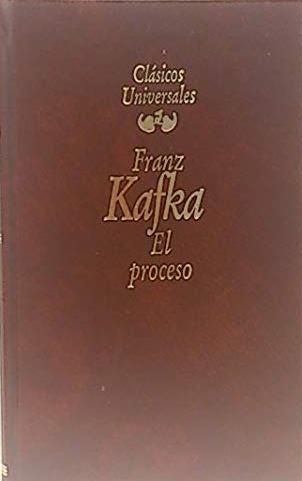 Portada EL PROCESO - FRANZ KAFKA - PLANETA