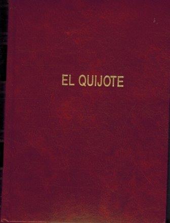 Portada EL QUIJOTE TOMO I / II - CERVANTES - ESPA-CREDIT