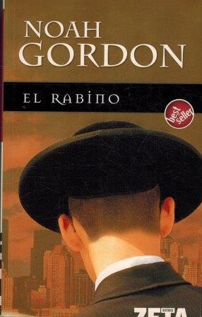 Portada EL RABINO - NOAH GORDON - GRUPO ZETA