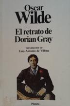Portada EL RETRATO DE DORIAN GRAY - OSCAR WILDE - PLANETA