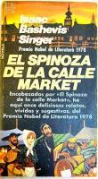 Portada EL SPINOZA DE LA CALLE MARKET - ISAAC BASHEVIS SINGER - PLAZA Y JANES