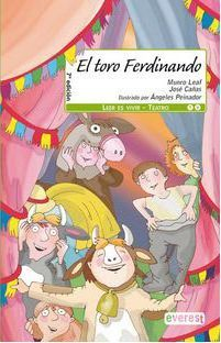 Portada EL TORO FERDINANDO - MUNRO LEAF JOSE CAÑAS - EVEREST
