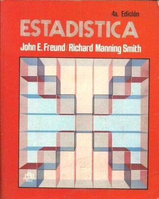 Portada ESTADISTICA - JOHN E. FREUD, RICHARD MANNING SMITH - PRENTICE HALL