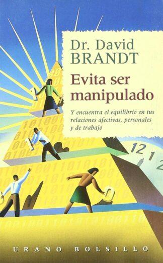 Portada EVITA SER MANIPULADO - DAVID BRANDT - URANO