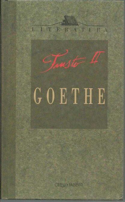 Portada FAUSTO. TOMO II - JOHANN W. GOETHE - PLANETA