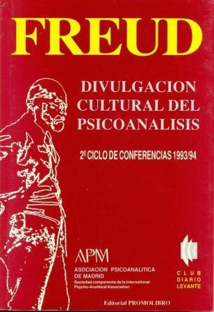 Portada FREUD DIVULGACION CULTURAL  DEL PSICOANALISIS - ASOCIACION PSICOANALITICA DE MADRID - PROMOLIBRO