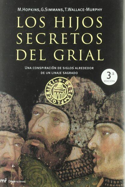 Portada HIJOS SECRETOS DEL GRIAL - HOPKINS / SIMMANS / WALLACE - PLAZA Y JANES
