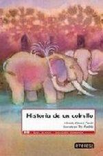 Portada HISTORIA DE UN COLMILLO - ALFREDO GOMEZ CERDA - EVEREST