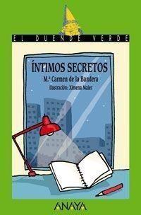 Portada INTIMOS SECRETOS - CARMEN DE LA BANDERA - ANAYA