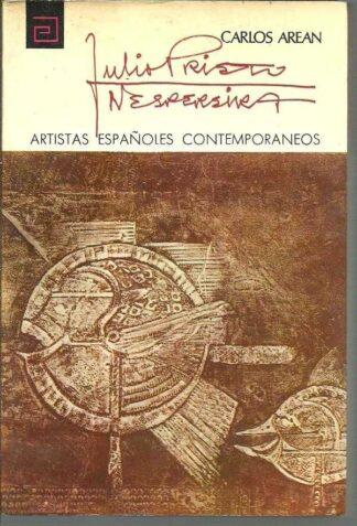 Portada JULIO PRIETO NESPEREIRA - CARLOS AREAN - ARTISTAS ESPAÑOLES CONTEMPORANEOS