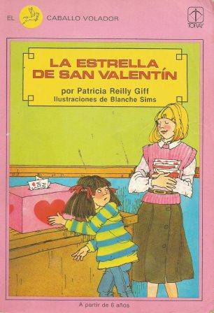 Portada LA ESTRELLA DE SAN VALENTIN - PATRICIA REILLY GIFF - TORAY