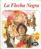 Portada LA FLECHA NEGRA - R.L STEVENSON - AURIGA