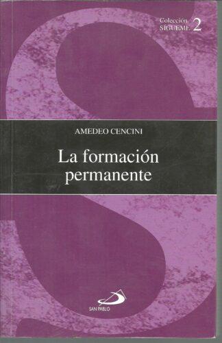 Portada LA FORMACION PERMANENTE - AMEDEO CENCINI - SAN PABLO
