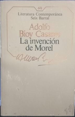 Portada LA INVENCION DE MOREL - ADOLFO BIOY CASARES - EL MUNDO