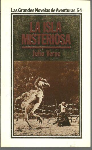 Portada LA ISLA MISTERIOSA - JULIO VERNE - ORBIS