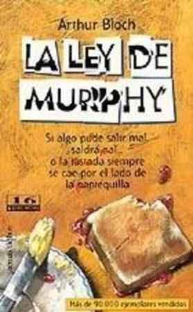 Portada LA LEY DE MURPHY - ARTHUR BLOCH - TEMAS DE HOY