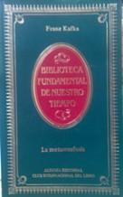 Portada LA METAMORFOSIS - FRANZ KAFKA - ALIANZA CLUB INTERNACIONAL DEL LIBRO