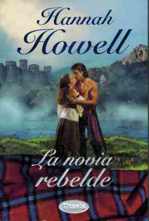 Portada LA NOVIA REBELDE - HANNAH HOWELL - TITANIA