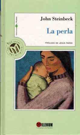 Portada LA PERLA - JOHN STEINBECK - MILLENIUM EL MUNDO