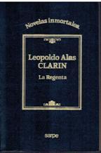 Portada LA REGENTA - LEOPOLDO ALAS CLARIN - SARPE