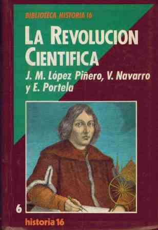 Portada LA REVOLUCION CIENTIFICA - VARIOS AUTORES - HISTORIA 16