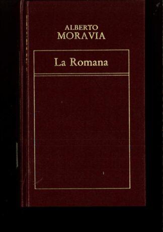 Portada LA ROMANA - ALBERTO MORAVIA - ORBIS
