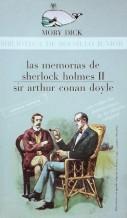 Portada LAS MEMORIAS DE SHERLOCK HOLMES II - ARTHUR CONAN DOYLE - LA GAYA CIENCIA