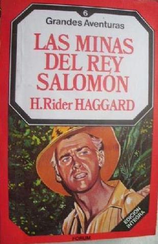Portada LAS MINAS DEL REY SALOMÓN - H. RIDER HAGGARD - FORUM