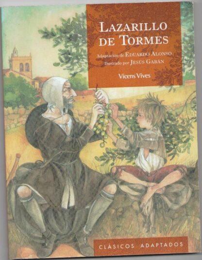 Portada LAZARILLO DE TORMES - EDUARDO ALONSO GONZALEZ - VICENS VIVES