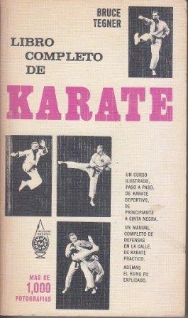 Portada LIBRO COMPLETO DE KARATE - BRUCE TEGNER - EDITORIAL DIANA