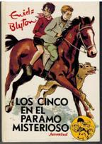 Portada LOS CINCO EN EL PARAMO MISTERIOSO - ENID BLYTON - JUVENTUD