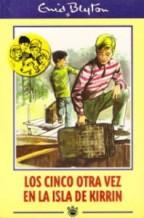 Portada LOS CINCO OTRA VEZ EN LA ISLA DE KIRRIN - ENID BLYTON - RBA