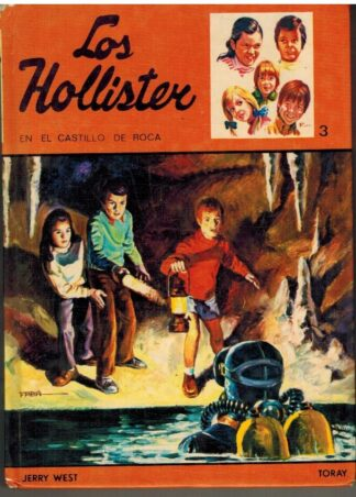 Portada LOS HOLLISTER EN EL CASTILLO DE ROCA - JERRY WEST - TORAY