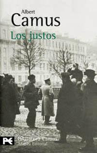 Portada LOS JUSTOS - ALBERT CAMUS - ALIANZA