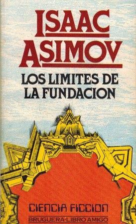 Portada LOS LÍMITES DE LA FUNDACIÓN - ISAAC ASIMOV - ALIANZA