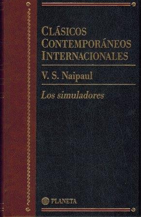 Portada LOS SIMULADORES - V.S.NAIPUL - PLANETA
