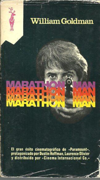 Portada MARATHON MAN - WILLIAM GOLDMAN - GP