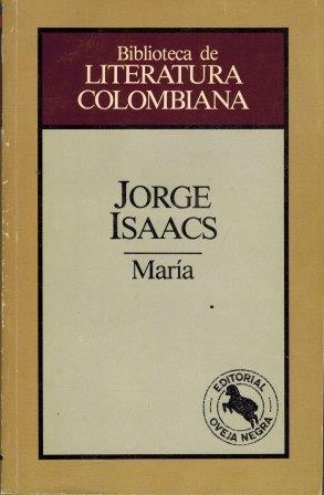 Portada MARIA - JORGE ISAACS - OVEJA NEGRA