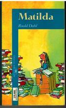 Portada MATILDA - ROALD DAHL - ALFAGUARA