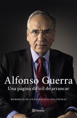 Portada MEMORIAS - ALFONSO GUERRA - ESPASA CALPE