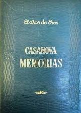 Portada MEMORIAS I - JACOBO CASANOVA - EDAF