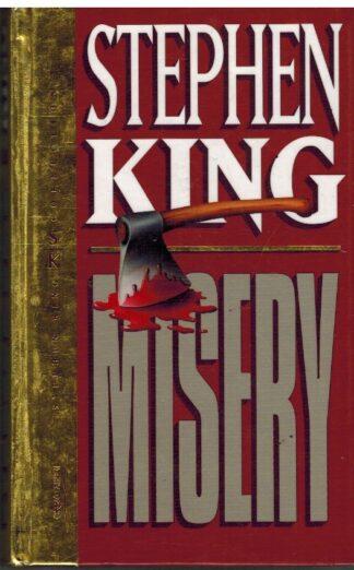 Portada MISERY - STEPHEN KING - ORBIS FABBRI