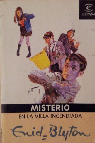 Portada MISTERIO EN LA VILLA DE LOS ACEBOS - ENID BLYTON - ESPASA