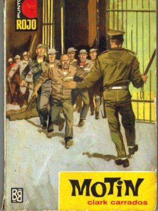 Portada MOTIN - CLARK CARRADOS - BRUGUERA