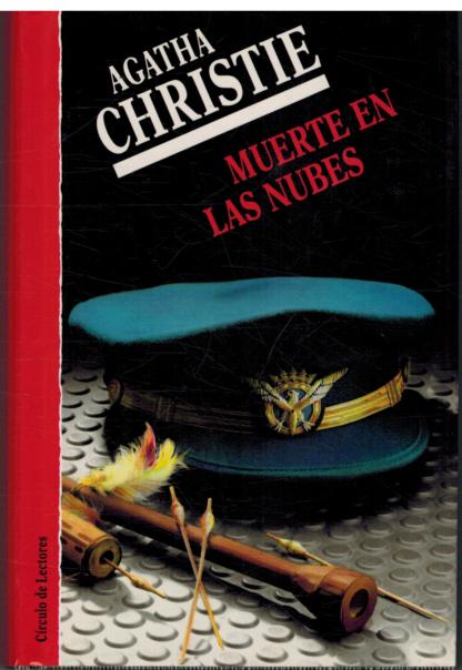Portada MUERTE EN LAS NUBES - AGATHA CHRISTIE - CIRCULO DE LECTORES