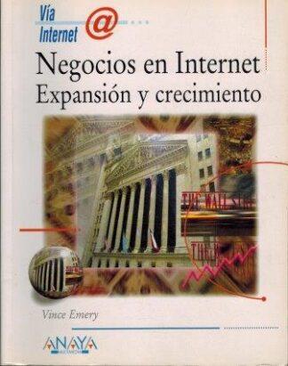 Portada NEGOCIOS EN INTERNET - VINCE EMERY - ANAYA