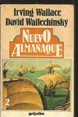 Portada NUEVO ALMANAQUE 2 - DAVID WALLECHINSKY / IRVING WALLACE - SALVAT